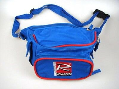 Novarossi Bag with printed logo. Multiple pockets with zips - NV-6/02P