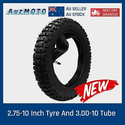 10 inch knobby 2.75-10 Tyre tire 3.0-10 tube dirt pit bike CRF 50 70 90 110
