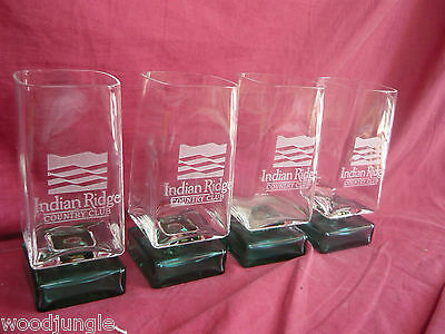 4 Indian Ridge Country Club Bar Glasses Palm Desert Springs Dd Designs Carmel