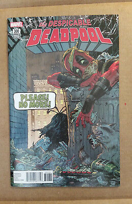 The Despicable Deadpool #300 1st Print 1:25 Tony Moore Variant 9.2