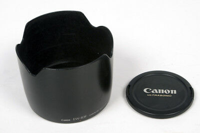 GENUINE Canon EW-83F Hood and Canon 77mm Lens Cap