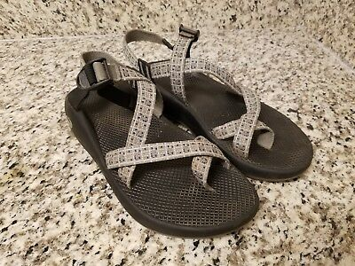 cf881d70b8a NEW CHACO Z 1 Unaweep Sport Sandals Size 12 Iron Gray VIBRAM ...