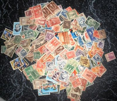 Assorted Australian Pre-decimal Stamps - Bulk Lot of 150 Used Stamps