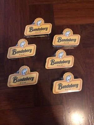 6 X Bundaberg Rum Compressed Towels