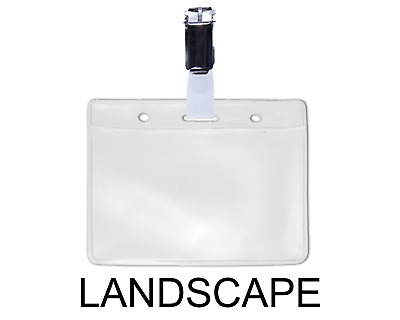 CONFERENCE OR VISITOR Badge Holders Name Badges Passes with