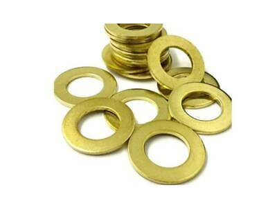 Pack of 50 BA Brass flat washers 6BA 5BA 4BA 3BA 2BA 1BA 0BA model makers