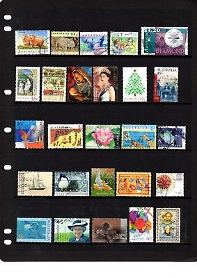 Australian sheet stamps, including high value, free post - off paper - Lot 214.