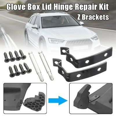 Glove Box Lid Hinge Repair Kit Z Shaped Bracket For AUDI A4 S4 B6 B7 8E 01-08 DH