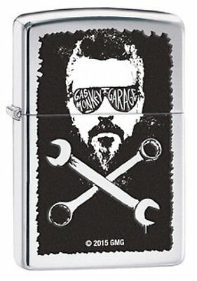 Zippo Lighter - Richard Rawlings Gas Monkey Garage High Polish Chrome - 29056
