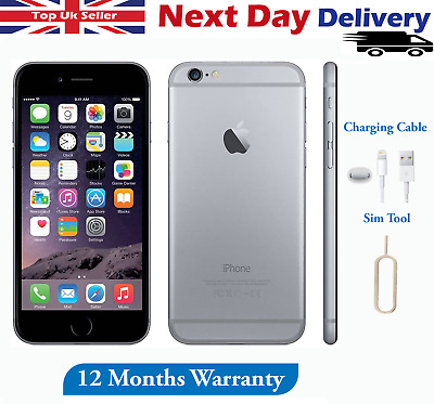 Apple iPhone 6 Plus + 16GB 64GB 128GB Unlocked SIM Free Smartphone Uk Top Seller