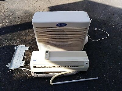Carrier split system air conditioner 3.7 kw heat 3.5 kw cooling