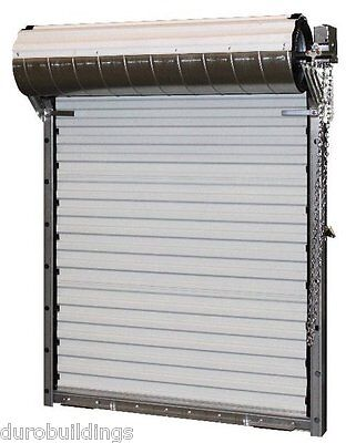 DuroSTEEL JANUS 16'Wx10H Heavy Duty 3652 Series FL Wind Rated Rollup Door DiRECT