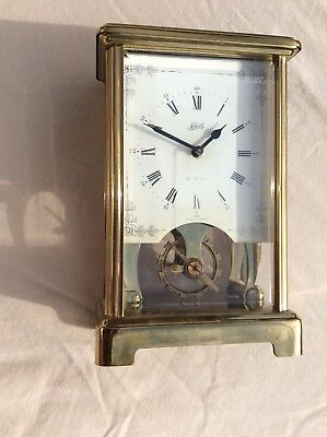 Schatz 8 Day Brass Carriage Clock