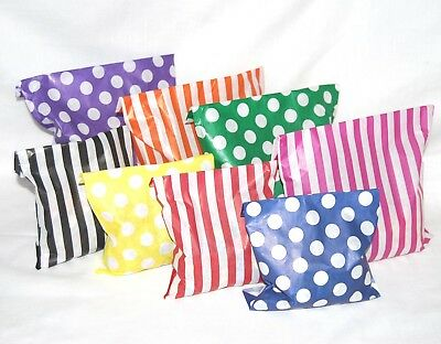 Paper Candy Sweet Bags Polka Dots - Coloured Wedding Favour Birthday Party Treat