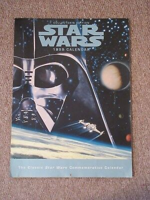 Star Wars 1999 Commemorative Calendar