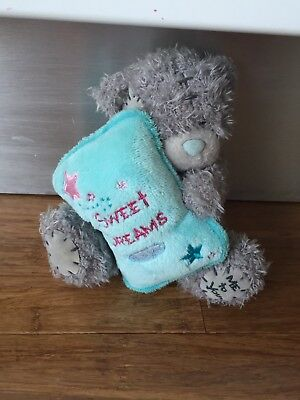 Carte Blanche Teddy Holding Sweet Dreams Blanket