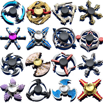 Fidget Spinner Finger Hand Focus Spin EDC Bearing Stress Toys Rainbow Collection
