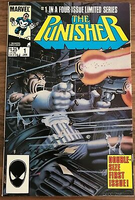 The Punisher 1. Limited Series. Mike Zeck. Marvel Comics. 1986. High Grade NM
