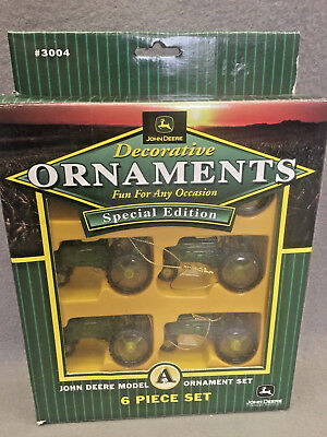 John Deere Model A Decorative Ornament Set 5 Pc Special Edition #3004
