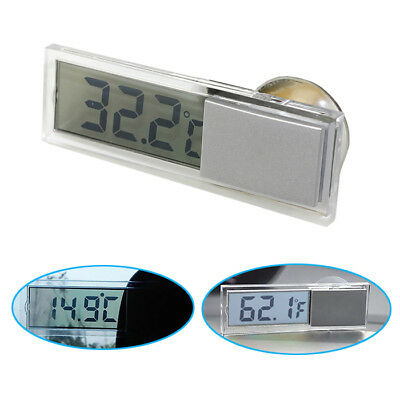 B63 KFZ Auto Digital Thermometer LCD Display Temperatur Klimaanlage mit Saugnapf