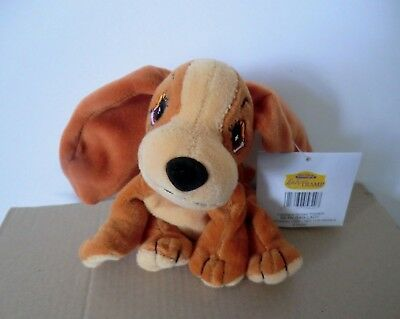Disney's Lady & The Tramp Video Promotional Soft Beanie Toy ( Cocker Spaniel )