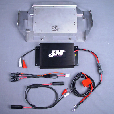 J&M Audio 200 Watt 2 Channel Amp Kit 2014 & Up Harley Ultra Street Glide Trike