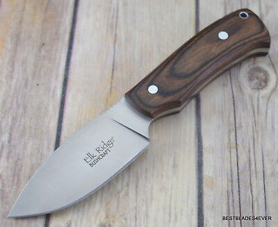7.5 Inch Overall Elk Ridge Full Tang Fixed Blade Hunting Knife With Sheath