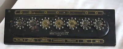 Vintage Mechanical The Calculator Co.Corporation Grand Rapids, Michigan
