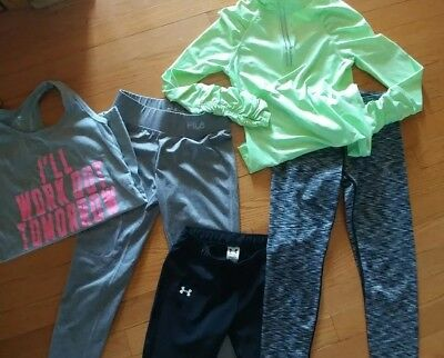 Girls Exercise Clothes Lot/Size 7-8
