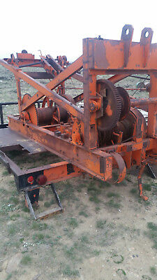 SPEEDSTAR 71 CABLE TOOL WATER WELL DRILLING RIG / make a  water well pump hoist