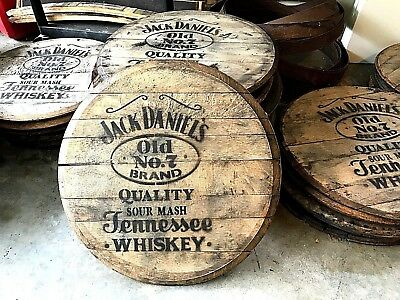 Authentic Oak Barrel heads, Jack Daniel's Whiskey / Bourbon
