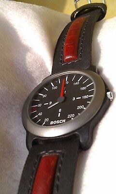 BOSCH Ultra Sport Porsche Design Titanium Watch, Swiss SMQ Ronda Mvt., Germany