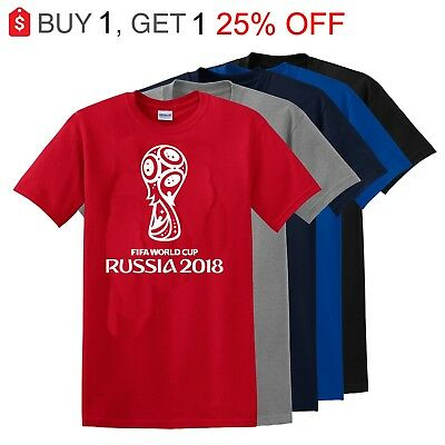 Fifa World Cup Russia 2018 T-Shirt CLOSEOUT 50% OFF LIST