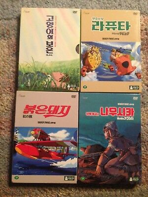DVD The Cat Returns,Porco Rosso,and more Hayao Miyazaki Studio Ghibli Collection