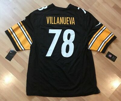 newest collection 3e562 c1e2f NIKE MEN'S SALUTE To Service Steeler #78 Villanueva Jersey ...