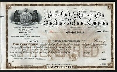 189_ New York: Consolidated Kansas City Smelting and Refining Company