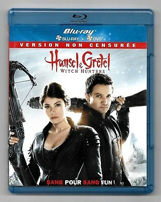 Blu-Ray + Dvd ★ Hansel & Gretel Witch Hunters (Non Censuree) ★ Dts (Zone B)