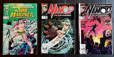 Namor Sub-Mariner Marvel Comics Lot of Seven 1 5 6 7 9 10 11 Iron Man