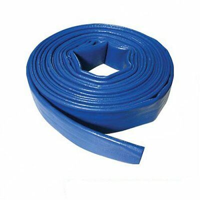 Silverline Lay Flat High Capacity DIscharge Hose 10m x 40mm for Submersible Pump
