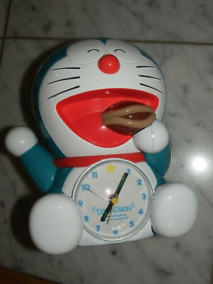 Japanese Animation DORAEMON Talking Alarm Clock from JAPAN Fujiko Pro