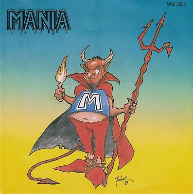 "MANIA - Message / Deliverance 7"" Single 1987 German Teutonic Metal VERY RARE"