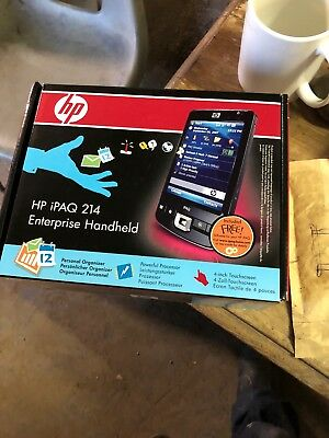 "HP iPAQ 214 Enterprise Handheld Windows Mobile 6 Classic 4.0"" PDA sealed"
