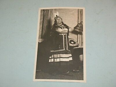 1940s NATIVE AMERICAN PHOTO~ MRS.EMILY LICKERS, BRANTFORD SIX NATION RESERVE