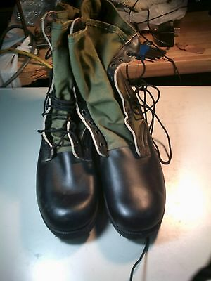 US Military Issue Vietnam Era  spike protected  Jungle Boots New Old Stock 12 N