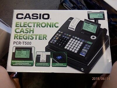 Casio Electronic Cash Register PCR-T500