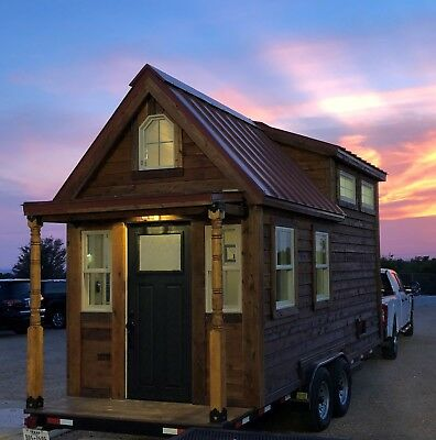 Tiny House - Built by Marble Falls ISD Construction Trades Program