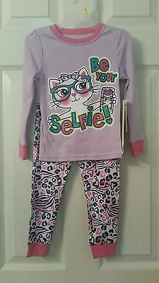 Toddler Girls GARANIMALS 2 Pce Long Sleeve Pajamas~Sz 3T~Be Your Own Selfie~NWT