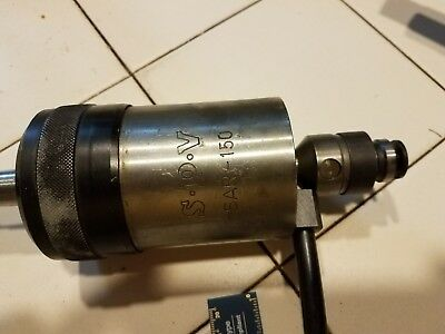 SPV SAR 150 Swedish tapping head with MT2 shank