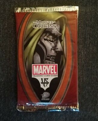 Marvel Origins   Marvel Vs System Trading Card Game 14 Cards Per  Booster  Pac