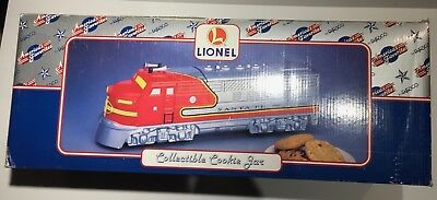 Enesco Lionel  Santa Fe Train Collectible Cookie Jar #480177 MINT NIB